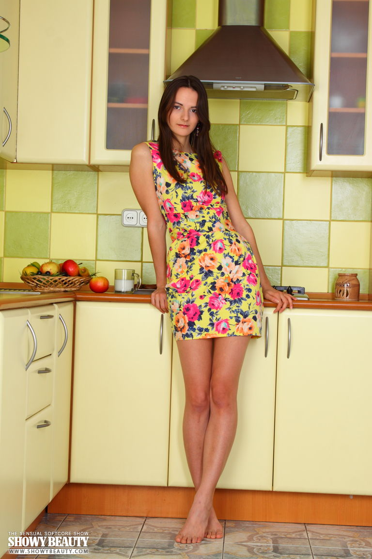 Kitchen showy beauty