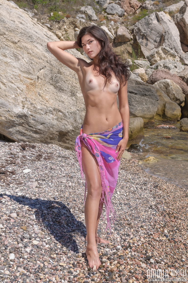 Caribbean ladies nude beach