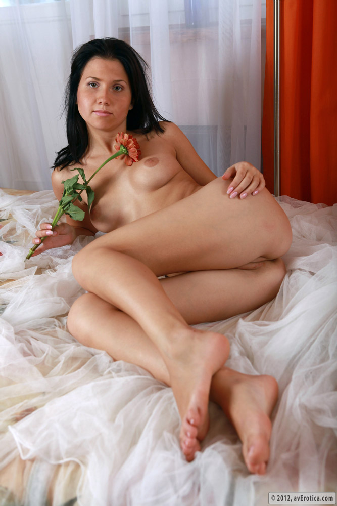 Mature bare legs and feet